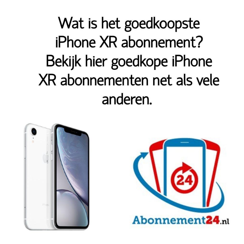 Wat is het goedkoopste iPhone XR abonnement_ Bekijk dé goedkope iPhone XR abonnementen van Nederland.