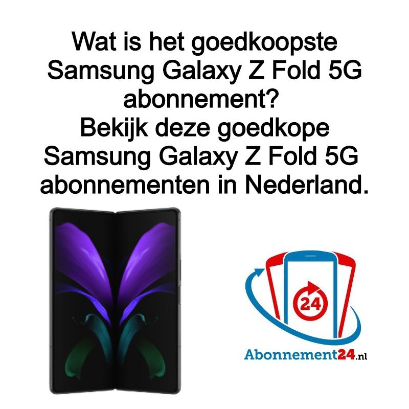 Wat is het goedkoopste Samsung Galaxy Z Fold 2 5G abonnement? Samsung lanceert de Samsung Galaxy Z Fold 2 5G. Waar kun je het Goedkoopste Samsung Galaxy Z Fold 2 5G abonnement vinden?