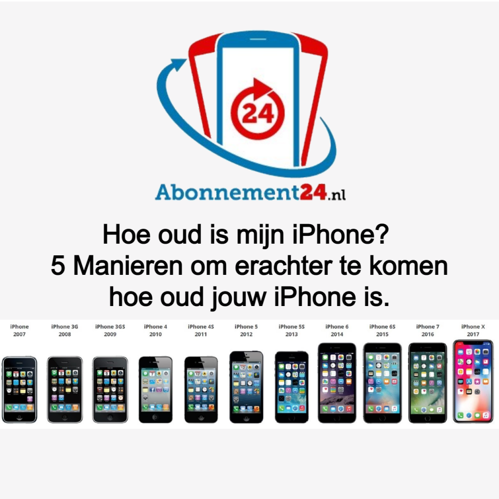 Hoe oud is mijn iPhone? 5 Manieren om erachter te komen hoe oud jouw iPhone is.