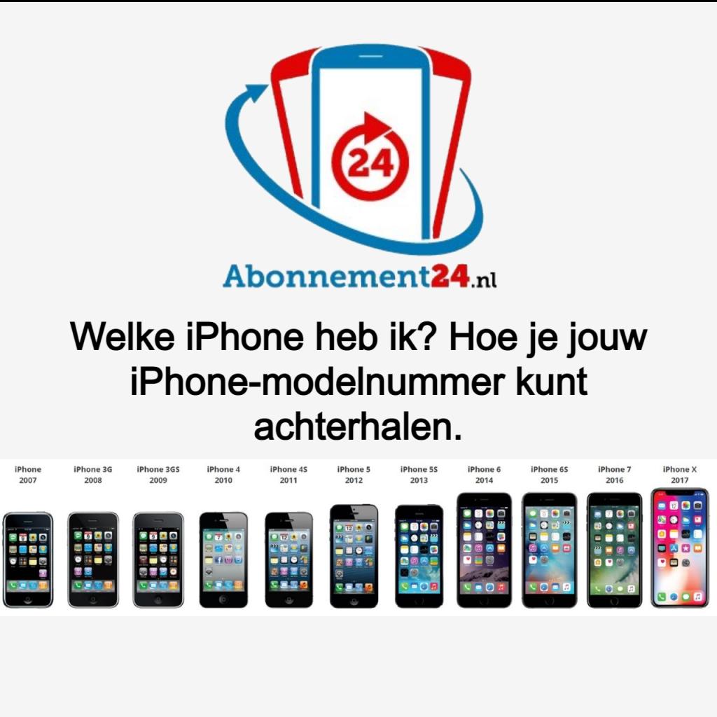 Welke iPhone heb ik? Hoe je jouw iPhone-modelnummer kunt achterhalen.